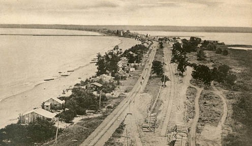 Burlington Beach Looking South to the Canal, n.d.